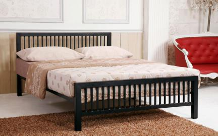 Time Living Meridian Metal Bed Frame, King Size