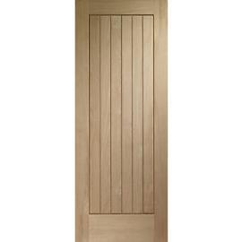 Wickes Geneva External Cottage Oak Door 2032 x 813mm