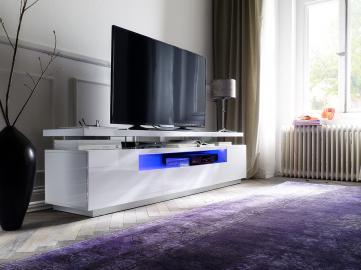 Evelina - white console tv stand