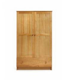 Obaby Double Wardrobe - Country Pine.