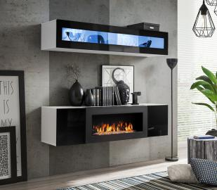 Idea N2 -  tv cabinet with fireplace