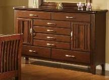 Contemporary Drawer Dresser