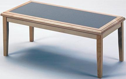 Lesro Somerset F1450T5 Coffee Table finish Walnut Top Inlay Grey Matrix