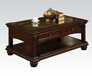 Acme Furniture 10322 Anondale Cherry Coffee Table with Storage