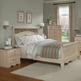 Standard Furniture Torina 3 Piece Sleigh Bedroom Set