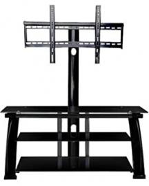 52 in. TV Stand in Black