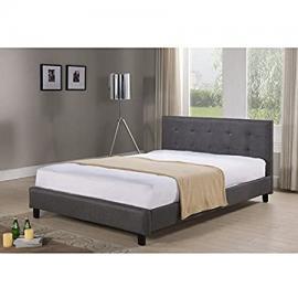 Hudson Tufted Upholstered Bed