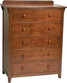 Bolton Furniture Mission 5 Drawer Chest cherry