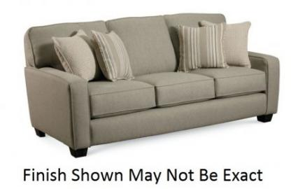 677-30-5139-23 Ethan Stationary Sofa With Three-Over-Three Frame Straight-Line Track Arms Great Contemporary Look Sleek Style Leather-Match Upholsteries & In