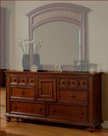 Winners Only 6 Drawer Dresser Cape Cod in Chocolate WO-BG1006