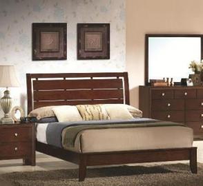Evan Queen Bed By Crown Mark