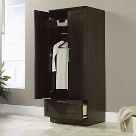HomePlus Wardrobe Cabinet(Sienna Oak Finish)