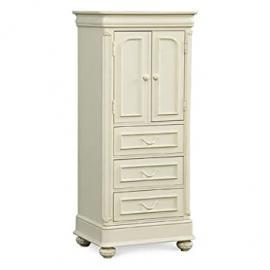Charlotte 2-Door 4 Drawer Wardrobe - Antique White