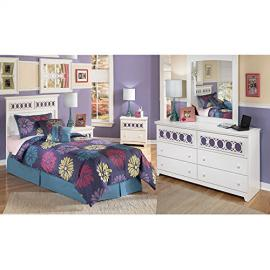 Zayley Headboard Bedroom Set Twin