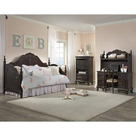 Cinderella Daybed Bedroom Set (Cherry)