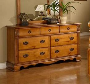 Sunset Trading Bryant 7 Drawer Dresser