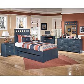 Leo Panel Bedroom Set w/ Trundle Full