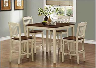 Dining Table with Four Counter Stools