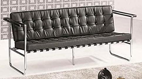 Celona Contemporary Sofa (White)
