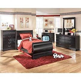 Huey Vineyard Youth Sleigh Bedroom Set Twin