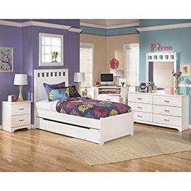 Lulu Panel Bedroom Set w/ Trundle Full