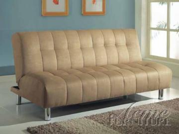 Acme 05635 Modern Beige MicrofiberSleeper Sofa