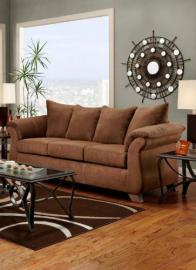 Chelsea Home Furniture Payton Sofa, Aruba Chocolate