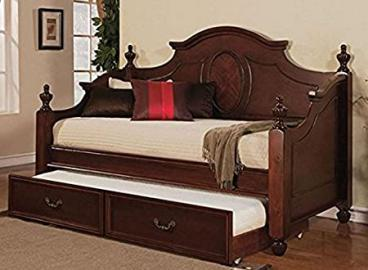 Daybed in Cherry Finish with Trundle by Acme Furniture