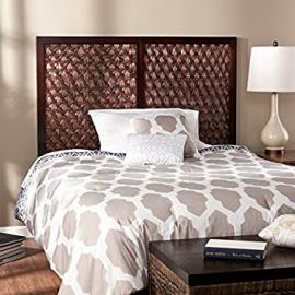 Rabat Wall-Mount Headboard with Weave Pattern
