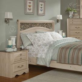 Standard Furniture Torina 2 Piece Sleigh Bedroom Set