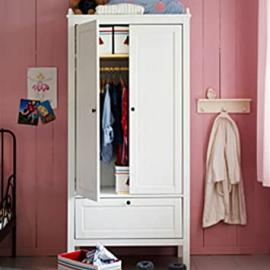 Ikea Sundvik Wardrobe Nursery Room White