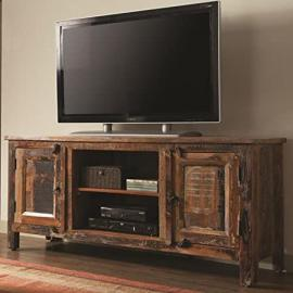 Coaster Company 700303 Accent Cabinets Reclaimed Wood TV Stand