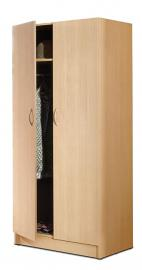 Nexera 564 2-Door Wardrobe, Natural Maple Finish