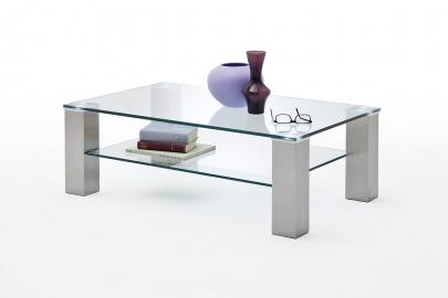Asta 2 - glass modern coffee table