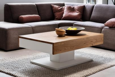 Lania -modern oak coffee table