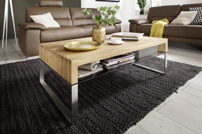 Hilary - wood oak coffee table