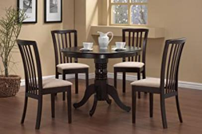 5-Piece Dining Set in Cappuccino - Coaste
