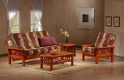 J&M Furniture 175653-Q-JV Colorado Futon Frame