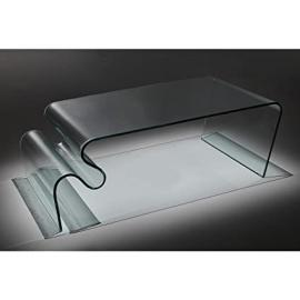 Infinity Wavy Transparent Coffee Table