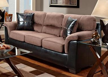 Chelsea Home Furniture Annabelle Sofa, Laredo Chocolate