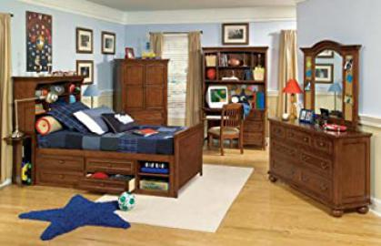 Legacy Classic American Spirit Bookcase Bedroom Set