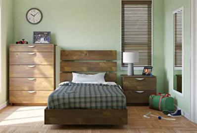 3-Pc Eco-Friendly Twin Bedroom Set