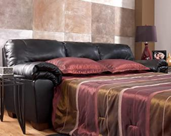 Black Full Sleeper Sofa by Ashley Furniture