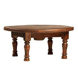 Old Wheel Coffee Table