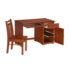 Night And Day Furniture Clove Student Desk In Cherry Finish