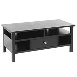 Flat Screen/Tube TV Stand with Drawer - Black