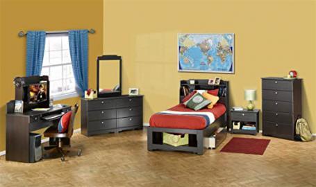 Nexera Dixon 4-Piece Bedroom Set in Espresso