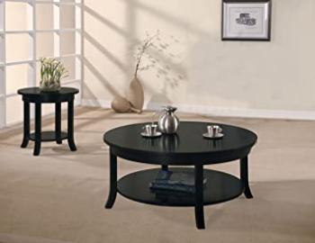 Acme 08000B Gardena Coffee Table, Black