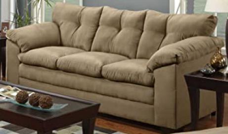 Simmons Upholstery Luna Sofa 6565- Latte