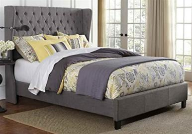 Hillsdale Furniture Crescent King Gray Bed Set